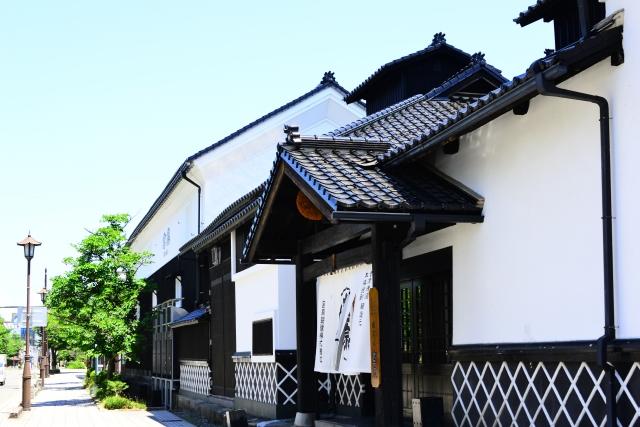 城下町の亀岡