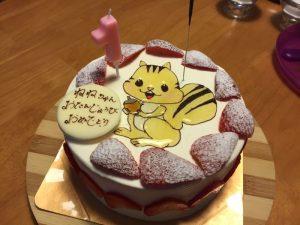 子供向けケーキ